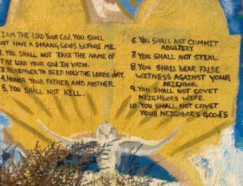 Exodus 20:1-4, 7-9, 12-20